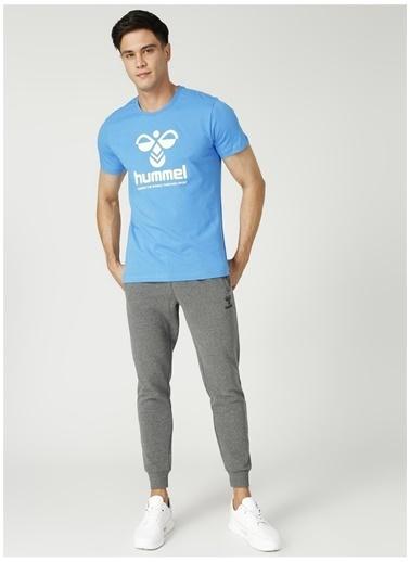 Hummel Hummel 7620 Koyu Gri Erkek T-Shirt Gri